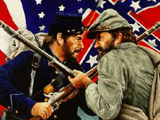 Image result for union vs confederate states