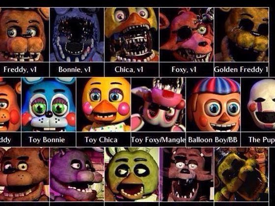 What fnaf 2 character are you wanna find out