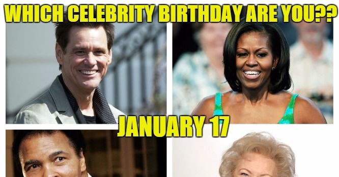 Today's top celebrity birthdays list (January 27, 2018 ...
