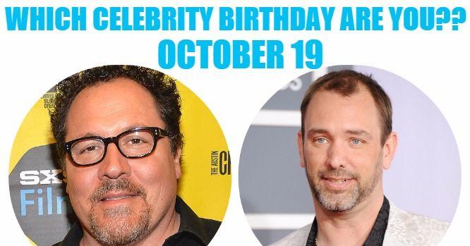 Celebrity birthdays oct 19