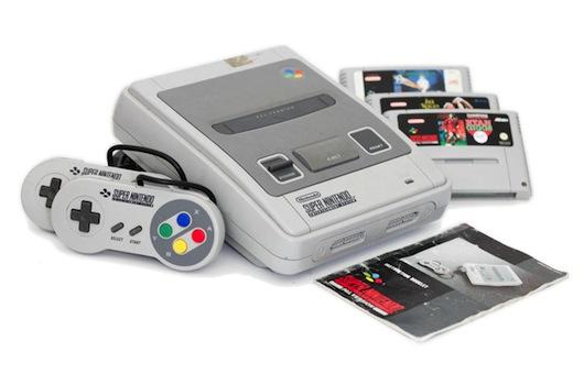 Super Nintendo in versione originale