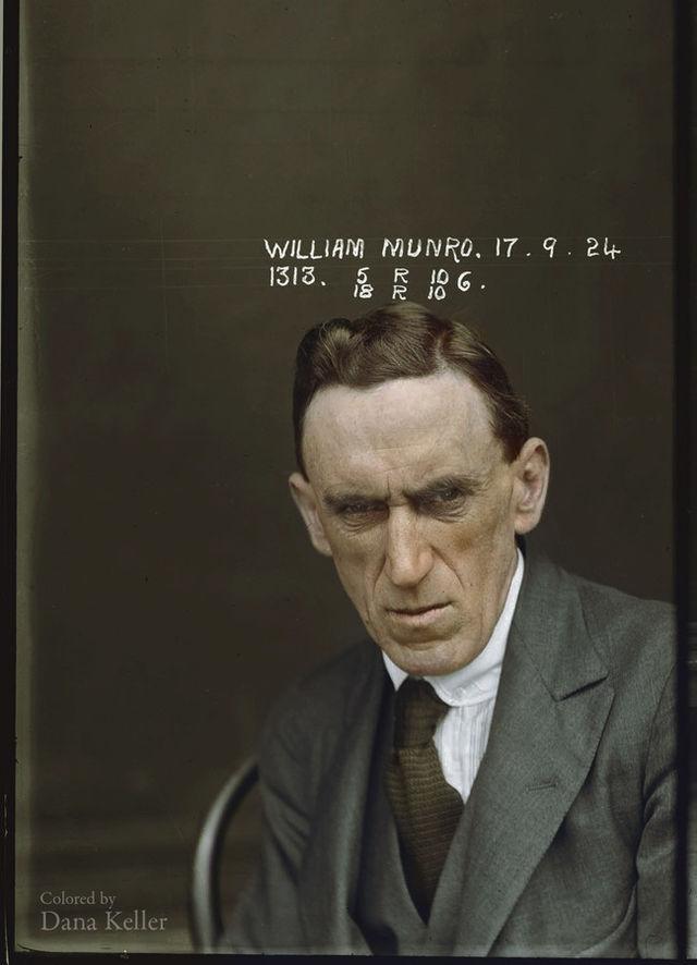 Ένας κατάδικος στο Αστυνομικό τμήμα της Νότιας Ουαλίας το 1920