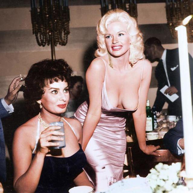 Η Sophia Loren και η Jayne Mansfield