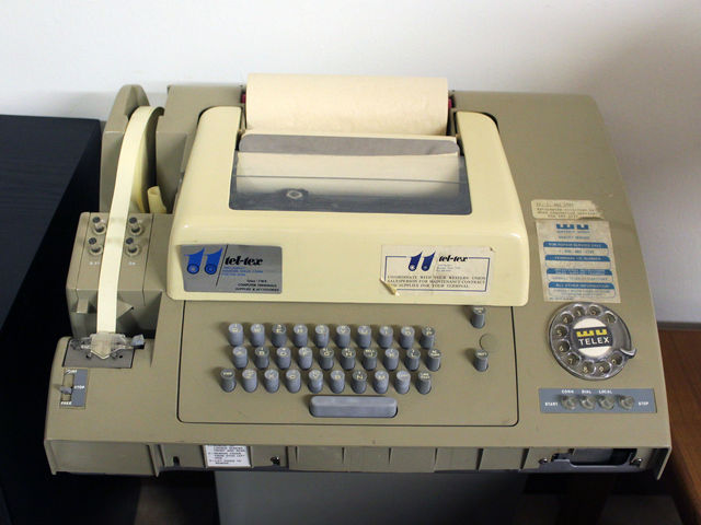 what year was the fax machine invented