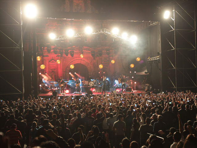 El recinto se llenó en su totalidad con seguidores de varias partes de Centroamérica.