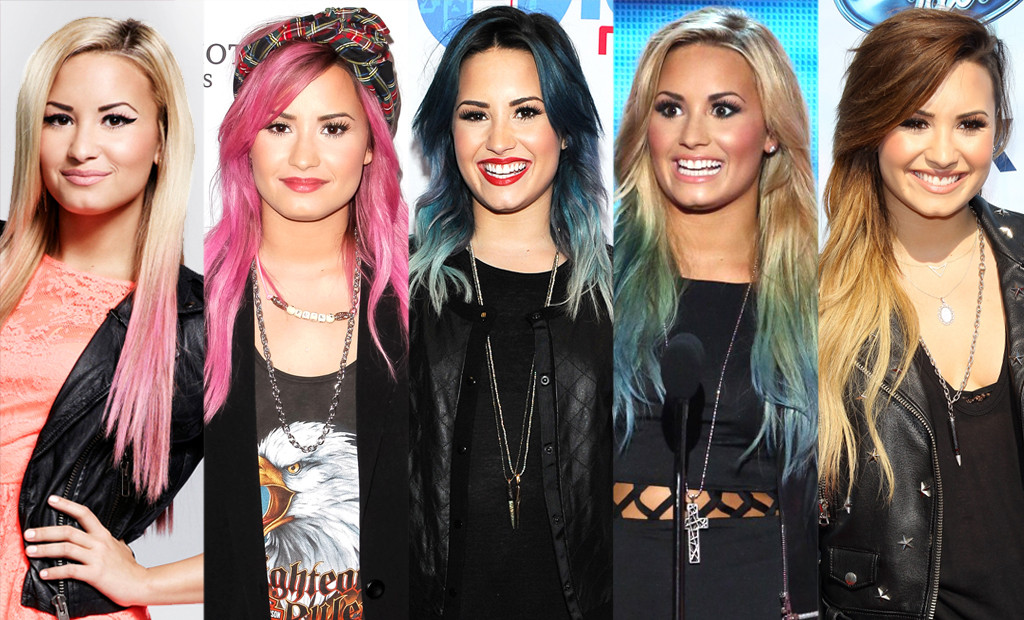 Which Hair Color Looks Best On Demi Lovato Playbuzz