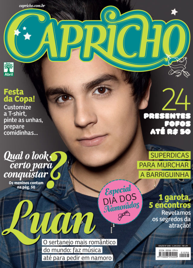 Excepcional Essas capas da revista Capricho vão fazer você se sentir muito  QR56