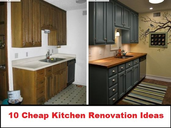 10 cheap renovation ideas for your kitchen playbuzz for Cheap house renovation ideas