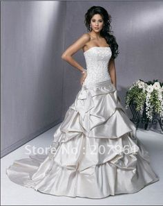 White And Silver Wedding Dress. White Silver Wedding Dress Dresscab ...