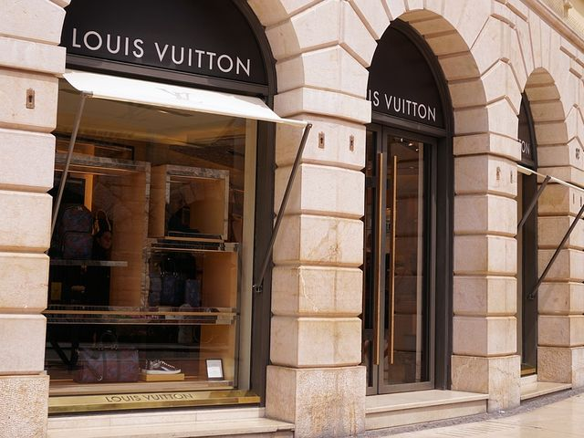 Louis Vuitton burns its unsold bags at the end of each year.