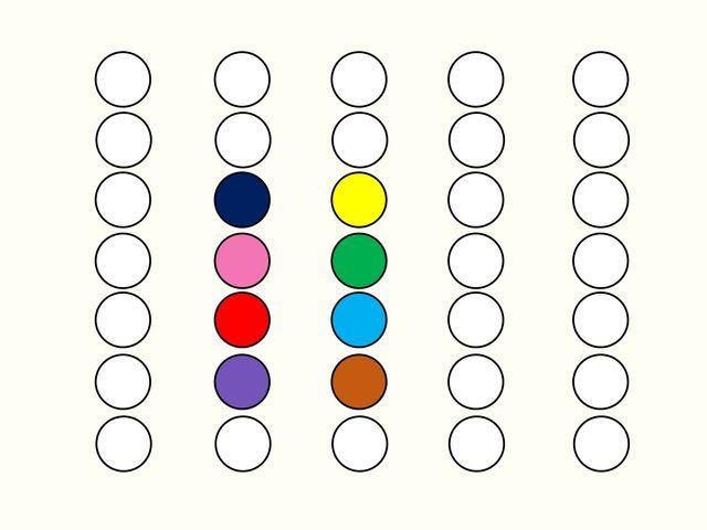 Какова точность вашего глазомера? - А какого цвета центральная точка здесь?