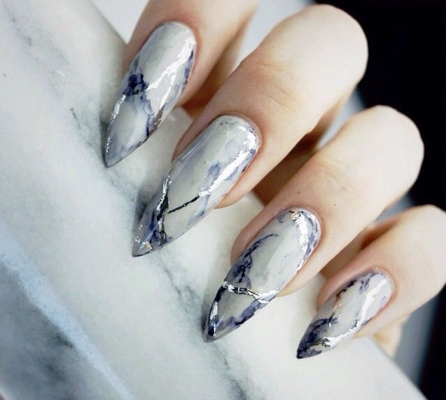 How To Marble Nail Polish Without Water Absolute Cycle