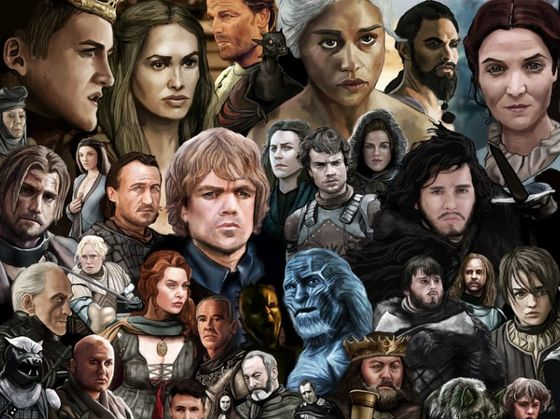 characters Game thrones