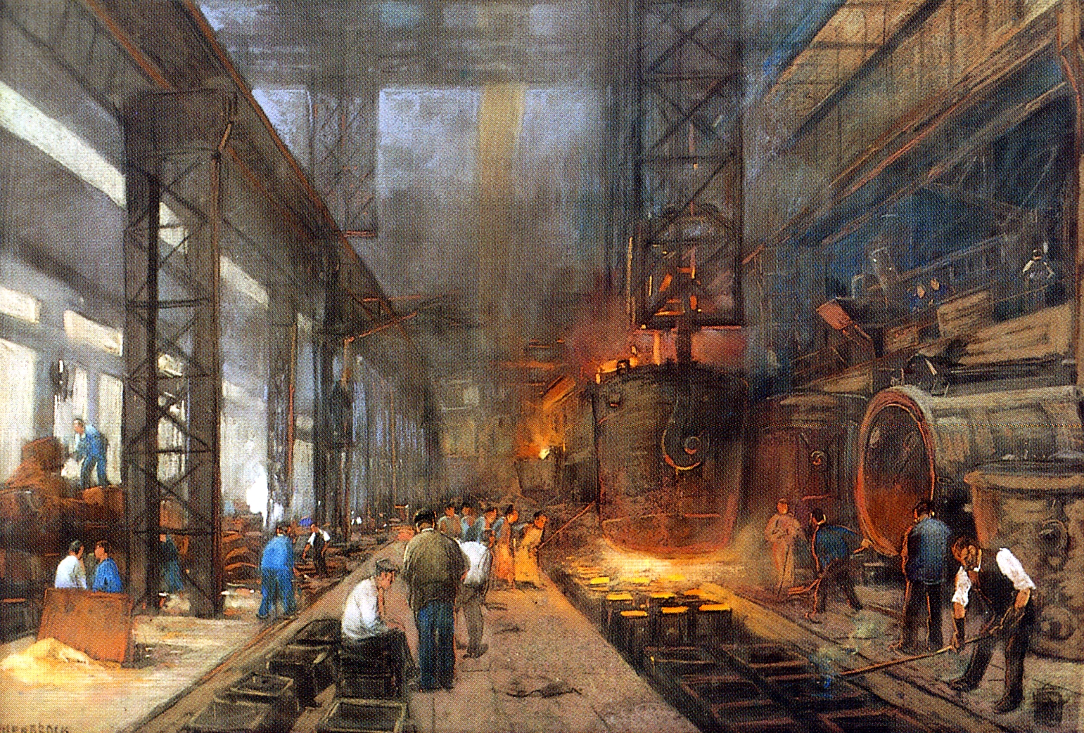 why the industrial revolution occurred in europe far earlier than it did in america Industrial revolution, term usually applied to the social and economic changes that mark the transition from a stable agricultural and commercial society to a modern industrial society relying on complex machinery rather than tools.