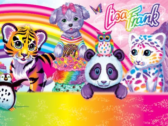 This Lisa Frank Coloring Book Is About To Awaken Your Inner Seven ...