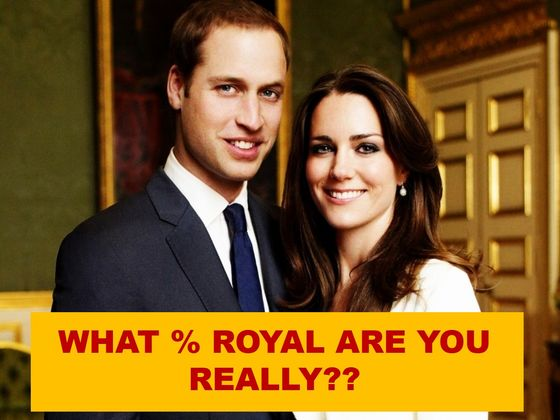What Percentage Royal Are You Really?