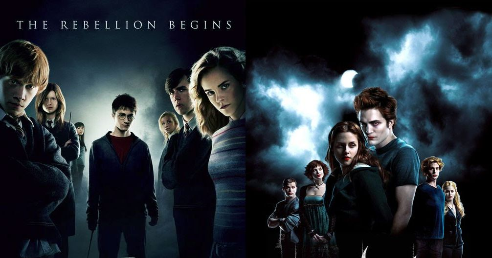 compare and contrast twilight vs harry potter Harry potter vs twilight similarities between harry potter and twilight (it pains me to compare hermione to bella sooooo much).