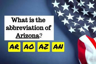 Only 1% Of Americans Know All 50 US States Abbreviations