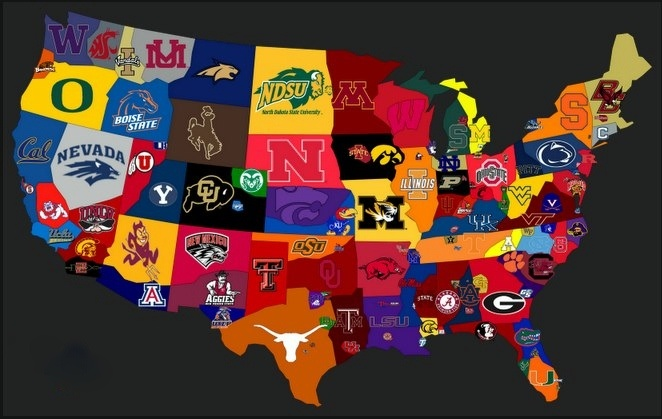 Map Us Colleges