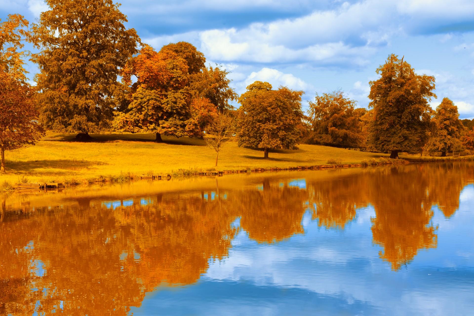 фото высокое осень разрешение