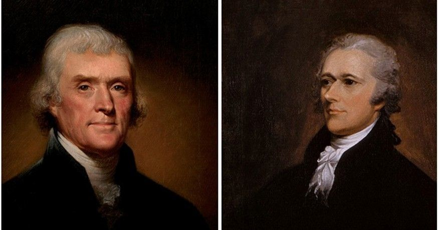 a comparison of the views of alexander hamilton and thomas jefferson on how the government should be Alexander hamilton vs thomas jefferson to the political views of the two political parties alexander should the federal government play an active.