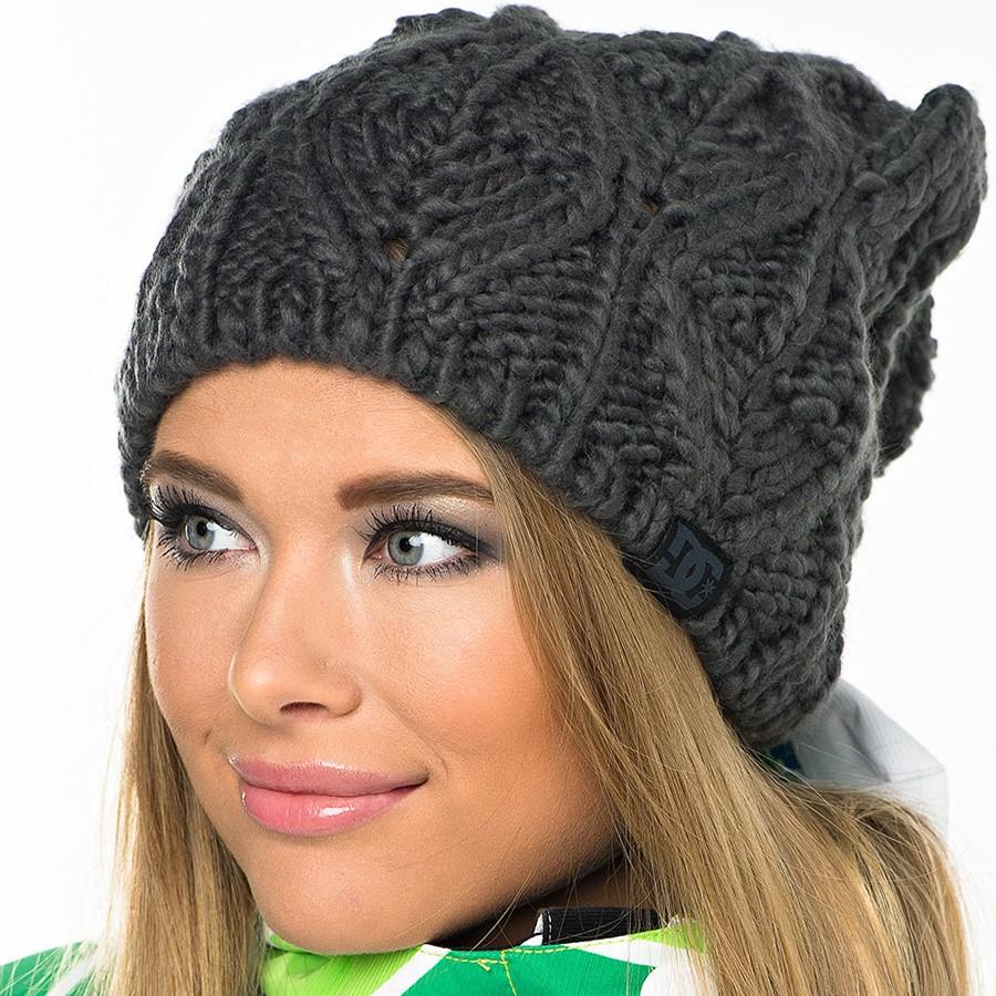 схема вязания шапки сбубоном