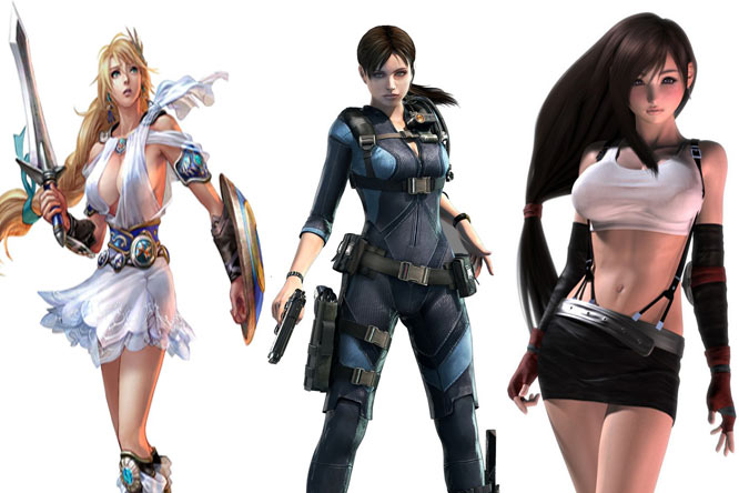 comparison of the female characters in