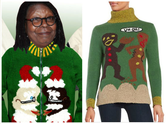 Whoopi Goldberg Christmas Sweaters.Whoopi Goldberg Designed Amazingly Ugly Sweaters You Ll Want