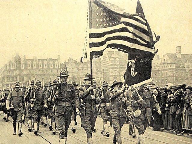 Почему США решили вступить в Первую мировую войну в 1917 г.?