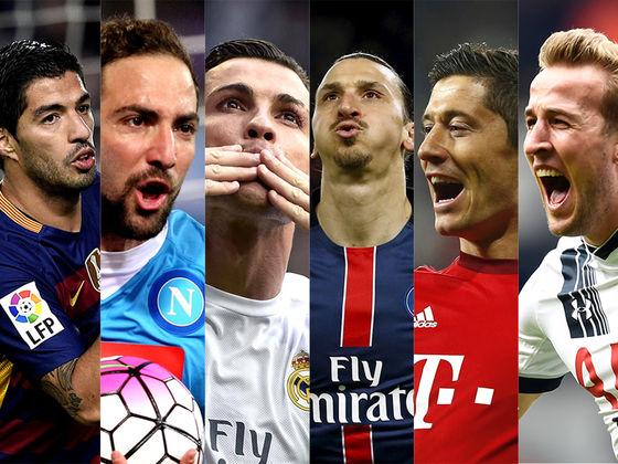 Chi è il miglior marcatore in Europa finora?