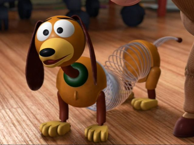 Toy Story Characters Slinky Dog