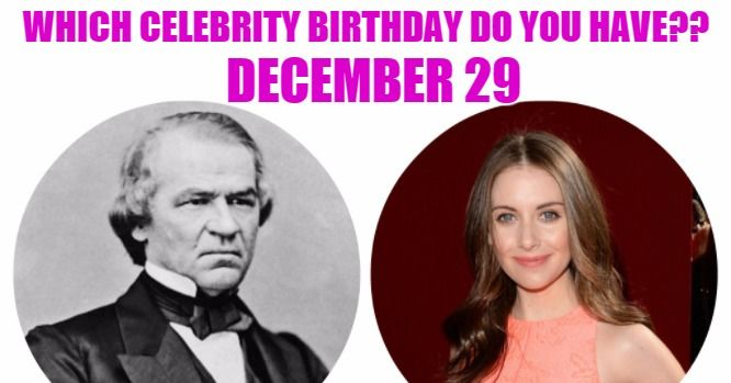 Today's top celebrity birthdays list for December 29, 2018 ...