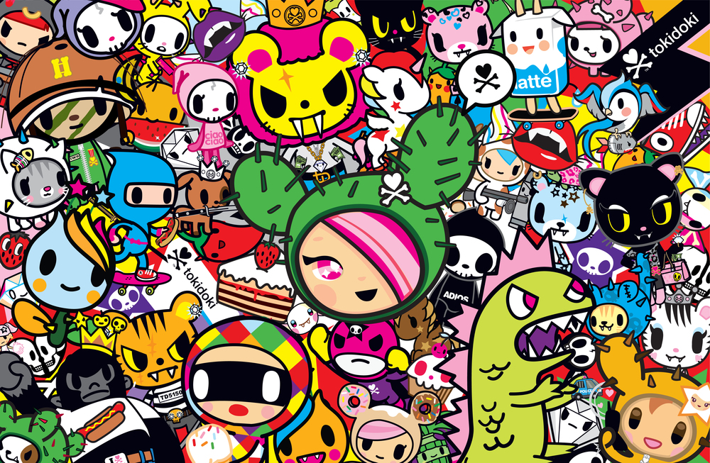 which tokidoki character are you playbuzz - Tokidoki Donutella Coloring Pages