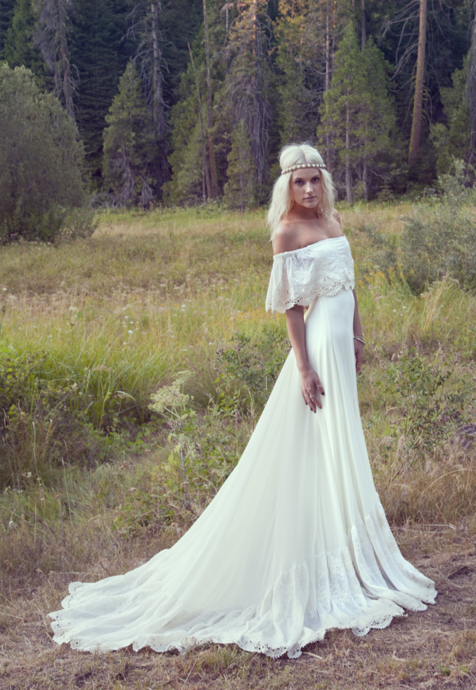 vintage inspired casual wedding dresses