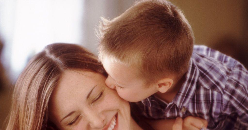 фото мама и сын плрно