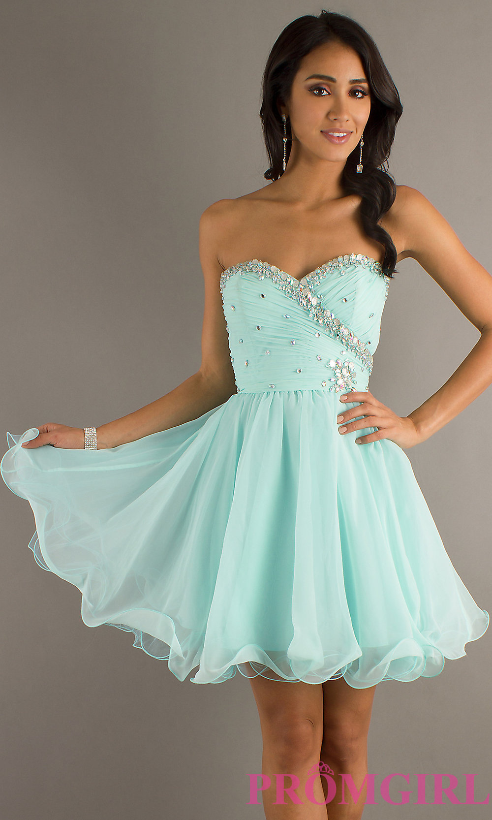 Short Dance Dresses