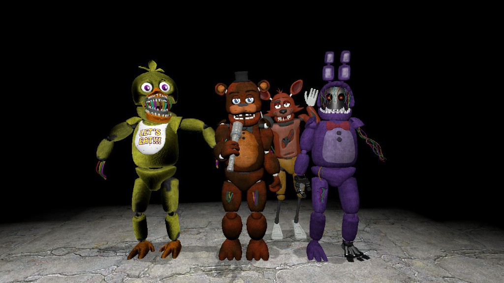 Which Fnaf Animatronic Are You – Desenhos Para Colorir