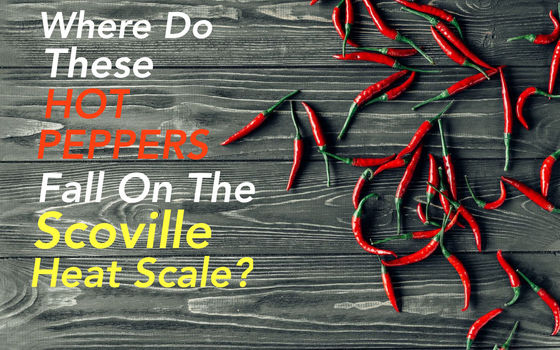 Do You Know Where These Hot Peppers Rank On The Scoville Heat Scale?