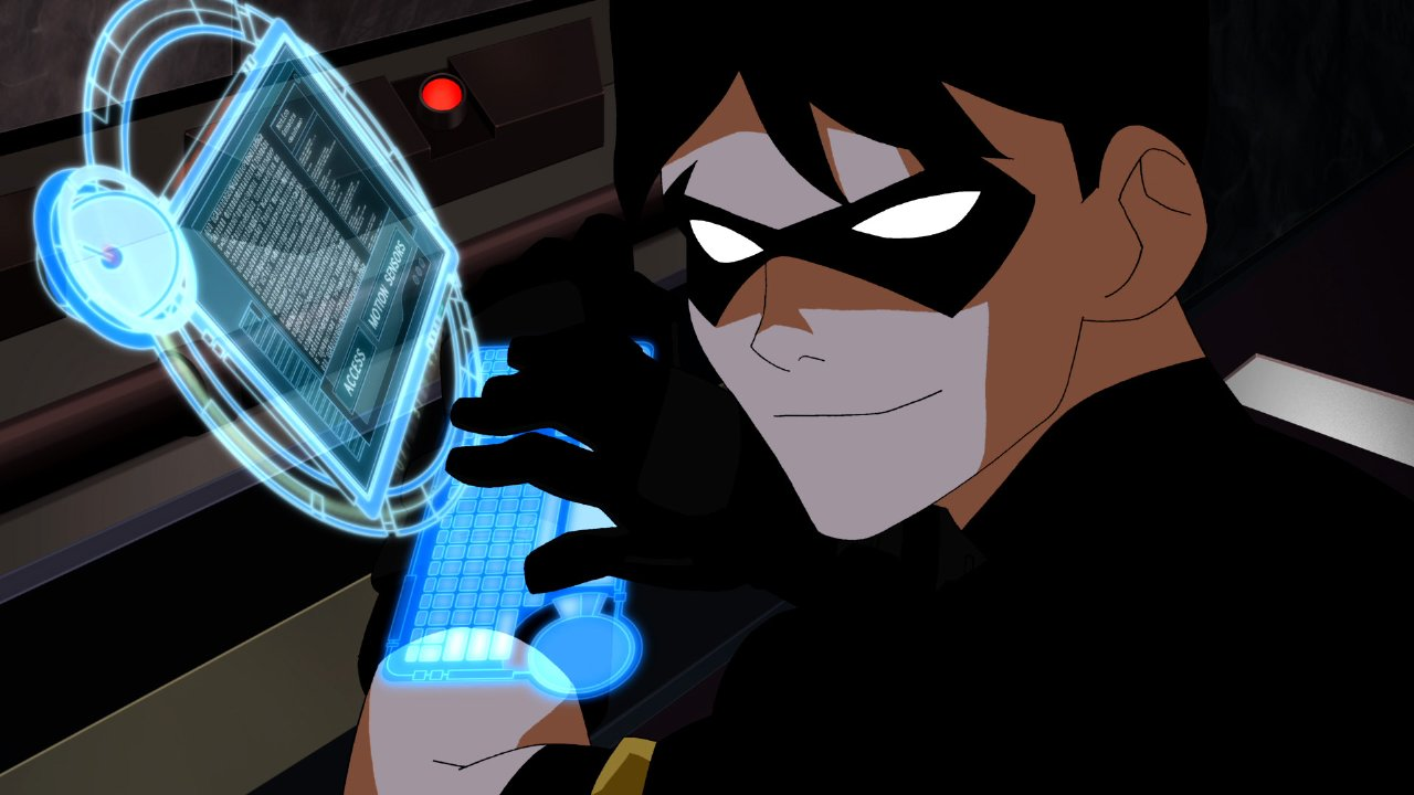 Nightwing Young Justice Wallpaper