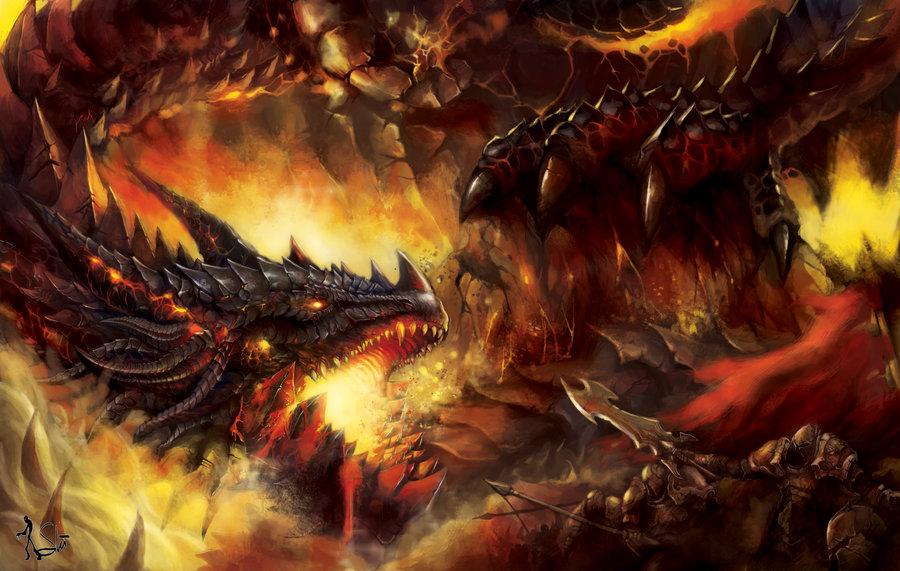 Evil Fire Dragon: God Skin: Dragon General Guan Yu