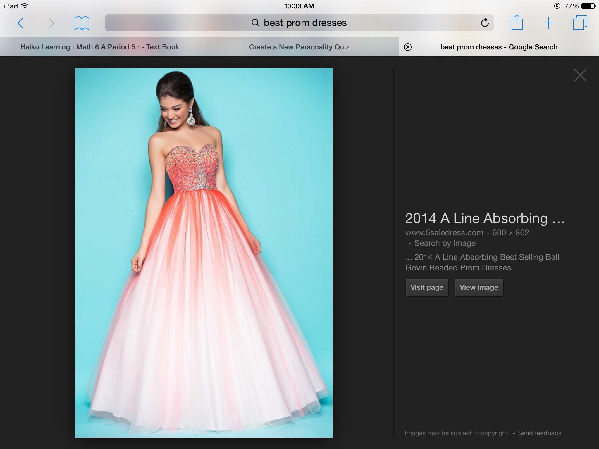 Which prom dress should you wear?   Playbuzz
