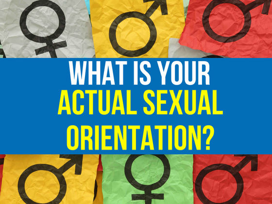 What is Your Actual Sexual Orientation?