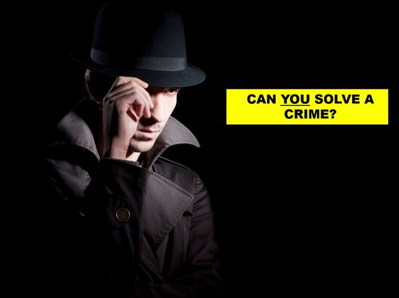How Quickly Can You Solve Crime?