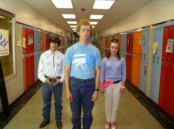 Image result for napoleon dynamite and deb