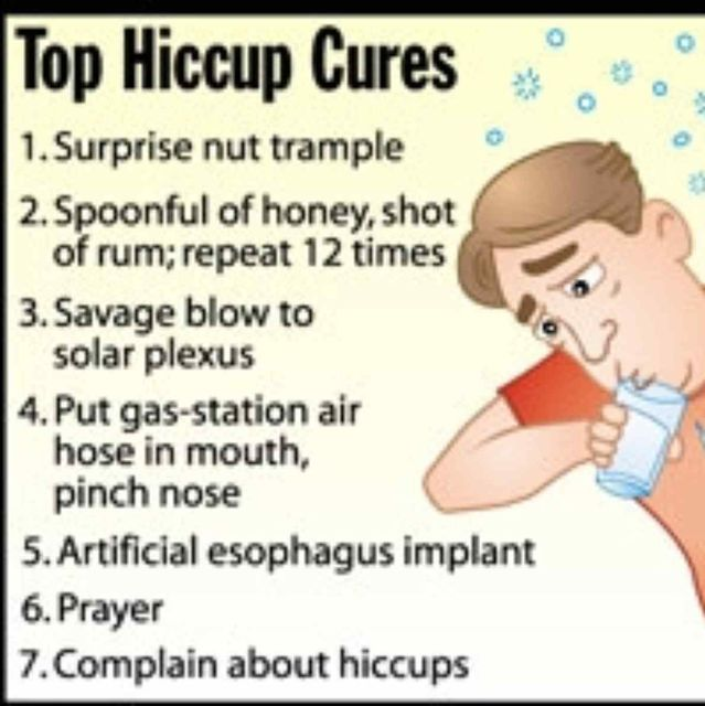 What Do You Do When You Have Hiccups