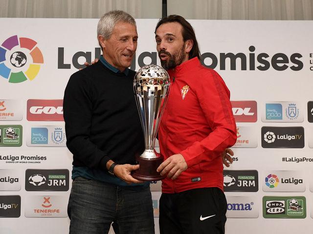 José Luis Rodríguez miglior allenatore LaLiga Promises XXI