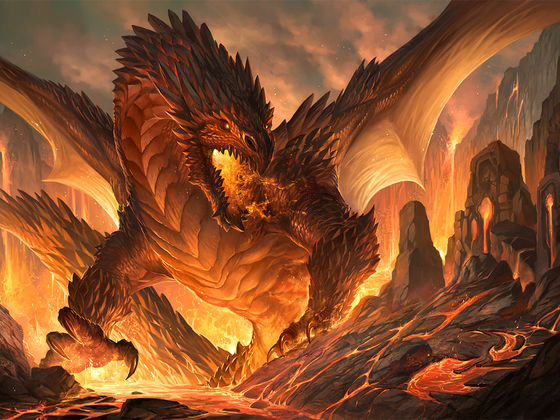 Earth Dragon: What Type Of Dragon Are You?