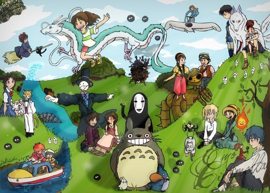 поделки: Весенние все фильмы хаяо миядзаки Уютный Дом можно