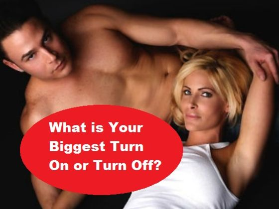 turn ons and turn offs for guys