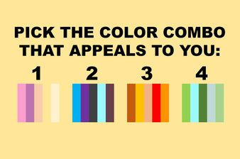 This Unique Color Test Reveals A Persons Dominant Outlook On Life!